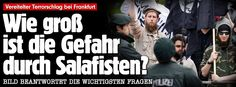 Vereitelter Terrorschlag: Wie groß ist die Gefahr durch Salafisten? http://www.bild.de/politik/inland/salafismus/salafisten-in-deutschland-hintergrund-40767698.bild.html Told you many times already, GER welcomes terrorists, rapists, killers, lazy ones etc lol, so, the wrong ones, so, such like this not a surprise at all that they live in GER, even often with GER citizenship,while GER at the same time mob+kick out nice+innocent ones, silly in fact!!!