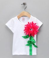 Mums the word on this thick, stretchy tee. Between you and me, the mum that's reaching for sunny skies on the front is an alligator clip that can be placed in hair or on hats when this fine and fancy tee is in the wash. Includes clip and tee97% cotton / 3% spandexHand wash; hang dryImp...