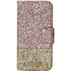 Kate Spade New York Skyline Leather Wrap Folio Phone Case for iPhone 7... (466710 PYG) ❤ liked on Polyvore featuring accessories, tech accessories and kate spade