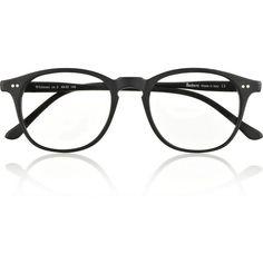 7db5c7f2a0 Illesteva Whitman D-frame matte-acetate optical glasses  220 Wayfarer  Sunglasses