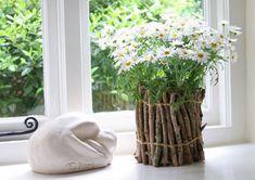 Декор цветочных горшков своими руками: описание идей + фото