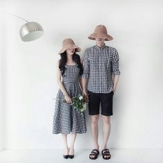 Matching Couple Outfits, Matching Couples, Cute Couples, Pre Wedding Poses, Pre Wedding Photoshoot, Latest Outfits, Fashion Outfits, Punk Fashion, Korean Wedding Photography