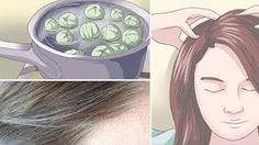 Leave This on Your Hair For 5 Minutes and Say Goodby. Published on Nov 2016 Goodbye White Hair! Leave This on Your Hair For 5 Minutes and Say Goodbye to White Hair Forever! Diy Beauty, Beauty Hacks, Old Mother, Natural Home Remedies, Grey Hair, Fall Hair, Beauty Routines, Hair Hacks, Hair Growth