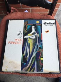 3 LP Set, The Art of Rosa Ponselle, Classical Music Record RCA Camden CBL 100