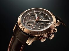 NEWS! Pre #Baselworld 2013 BREGUET TYPE XXII 5880 10 Hz rose gold