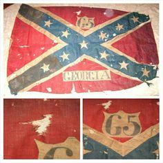 old georgia flag