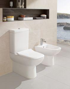 Inodoro Joyce con tecnología Direct Flush.  #Villeroyboch #Villeroyboches #innovación #inodoros #lavabos #bañeras #platosdeducha #tendencia #Premium #viclean #washlet #inorodo-bide #inspiración #diseño #lujo #estilo #bath #DirectFlush