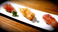 Japanese gastronomy -Trilogie de crevette royale- www.iloli-restaurant.com
