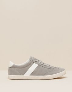 Pull&Bear - femme - chaussures femme - tennis basiques - gris - 15760011-I2015