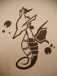 Kingdra tattoo