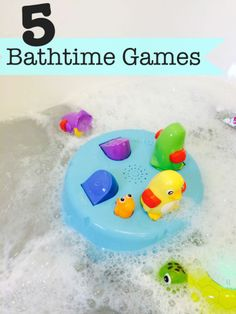 5 fun bathtime games for kids