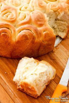 Pão Caracol ou Enroladinho com Manteiga