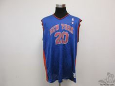 Vtg 90s Champion New York Knicks Allan Houston #20 Basketball Jersey sz 52 NBA #Champion #NewYorkKnicks  #tcpkickz