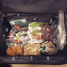 What to pack for gluten-free, Paleo Travel Snacks.