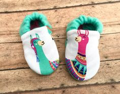 Llamas Bohemian Pastel Colored Baby Toddler by WithinThePines