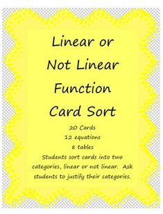 Algebra's Friend: Using Card Sorts in Math Class. FREE