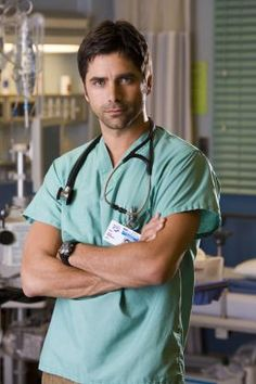 """ER's Dr. Tony Gates played by John Stamos, AKA """"Uncle Jesse"""" from Full House. hot doctor"""