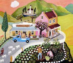 Carol Mangiagalli Naive Artist