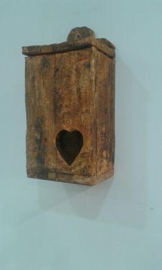 Porta sacos em madeira de palete