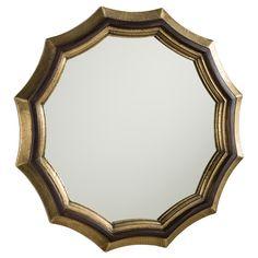 Kass Wall Mirror, Arteriors at Joss and Main Contemporary Wall Mirrors, Unique Mirrors, Round Mirrors, Shabby Chic Lighting, Circular Mirror, Dining Room Inspiration, Floor Mirror, Mirror Mirror, 3 D