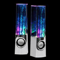 Water Dancing Speakers Chrome byLeading Edge Novelty