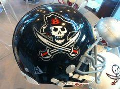 Tampa Bay Buccaneers Prototype Helmet Circa 2014