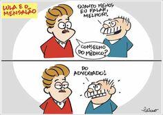 Charge do dia: Lula e o Mensalão