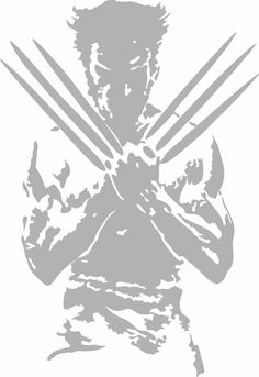 Wolverine Side View Wall Decor Vinyl Decal Graphic - Choose your Color and Size