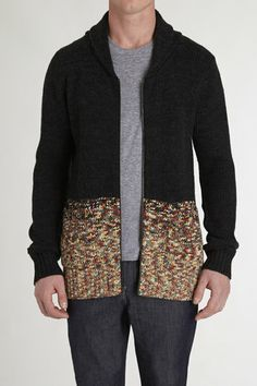 Manetize Shawl Sweater - Insight - Sweaters : JackThreads