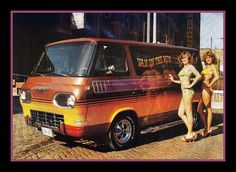 """""""Van On The Run"""" Custom Van, 1979 by Cosmo Lutz, via Flickr"""