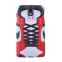 Galaxy Note 3 Air Jordan Sneaker Shoe Lace Case