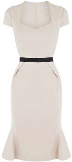 Karen Millen Structured Jersey Dress - LOVE