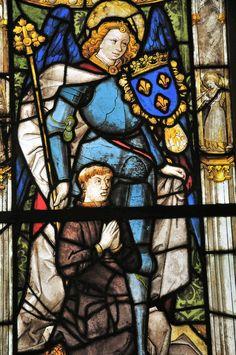 New York Metropolitan Museum of Art - Church Stained Window
