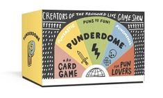 Punderdome is about to become your go-to party game...