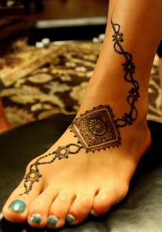 henna: I kind of want to get secret henna on my foot for my wedding day even though I'm not from India. Is that weird?