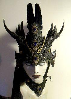 pagan witch mask