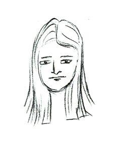 portrait doodles