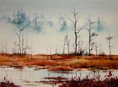 Sterling Edwards - watercolor painting.