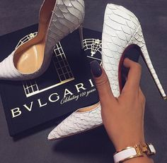 Id Love to Have Those Heels in My Closet.