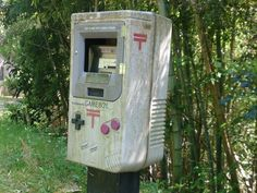 Mailbox idea? Or maybe video game rentals idea