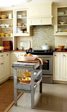 Deco ideas para colocar una isla en cocinas peque as - Ideas para decorar una casa pequena ...