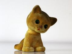 Super cute Vintage Russian toy Kitten from Soviet Union 70s