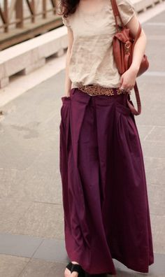 women-casual-wide-leg-long-linen palazzo pants perfect for summer