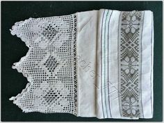 UKRAINIAN HAND EMBROIDERED RUSHNIK TOWEL early 1900th - AUTHENTIC ornament rare