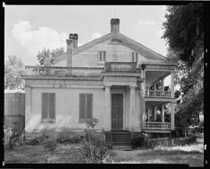 Rosedown Plantation, St. Francisville, W. Feliciana Parish, Louisiana. Building/structure dates: 1835. Related name: The Misses Bowman. Built by Daniel Turnbull, grandfather of present owner.