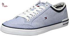 Tommy Hilfiger H2285arrington 5d1, Sneaker Basses Homme, Bleu (Monaco Blue), 40 EU - Chaussures tommy hilfiger (*Partner-Link)