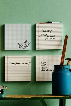 DIY boards clear picture frames, different types of paper!