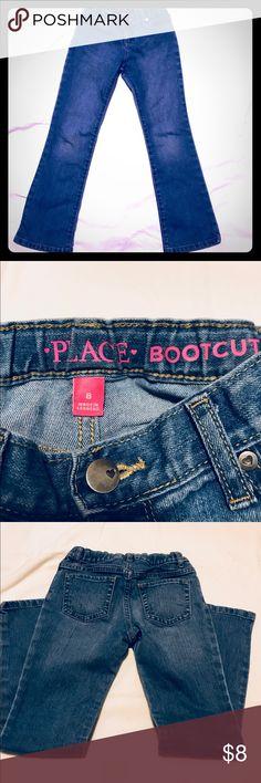 Girls Children's Place Jeans size 8 In excellent condition! Adjustable waist Children's Place Bottoms Jeans