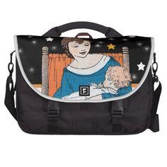 Vintage Loving Mother Baby Stars Mother's Day Commuter Bag