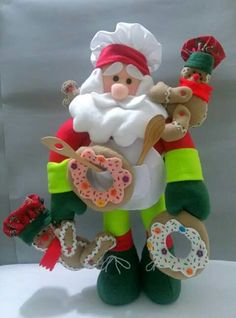 Gg Christmas Ornaments, Holiday Decor, Home Decor, Xmas, Christmas Houses, Christmas Stockings, Papa Noel, Christmas Crafts, The Creation